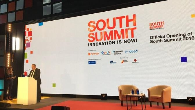 south summit inauguracion