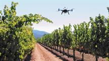 agricultura dron IoT