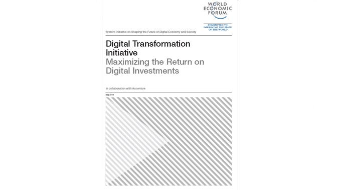 WEF digital investments whitepaper
