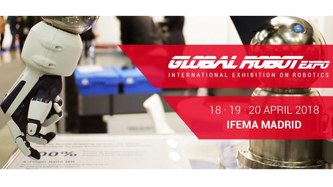 Global Robot Expo cartel 2018